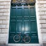 Fahrradtüre