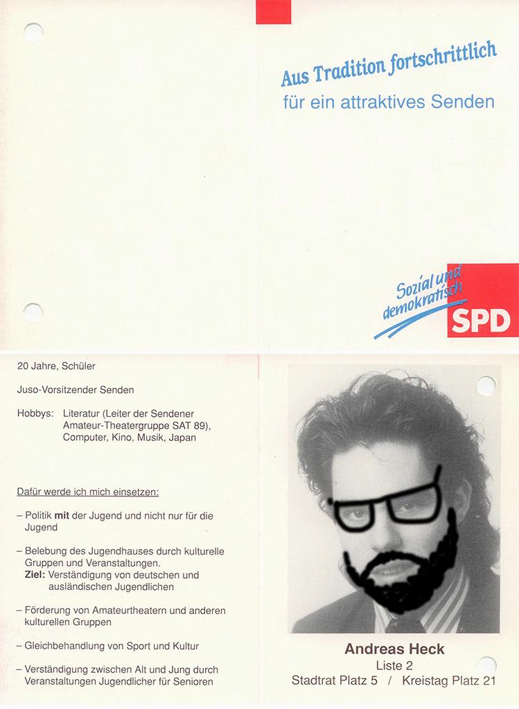 Der Kunsthansi engagiert sich für die Arbeiterpartei